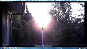Antennae&CamerasLowerCableofSun.Sunrise (C)noelenejoyrout9.06am9thMarch2013 108