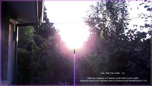 Antennae&CamerasLowerCableofSun.Sunrise (C)noelenejoyrout9.06am9thMarch2013 108Snapshot_143