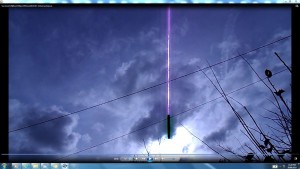 Antennae&CamerasinCablesofTheSun.2.SunJune(C)NjRout3.50pm27thJune2014 017 Antennae.Vapour.