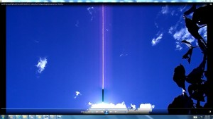 Antennae&CamerasinSunsCable.AA.Sun10February(C)NjRout10.53am20thFeb2014-011-CablesofSunPinkExpandingAntennaeCameras.ThisOne.2
