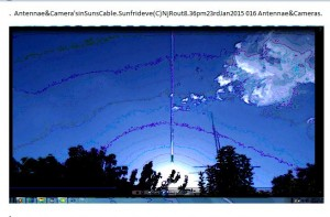 Antennae&CamerasinSunsCable.Sunfrideve(C)NjRout8.36pm23rdJan2015 016 Antennae&Cameras.WP.Graph.