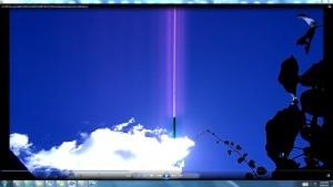 Antennae&CamerasinSunsMassiveCable.A.A.Sun10February(C)NjRout10.53am20thFeb2014 005 SunPinkCablesAntennaeCamerasWhiteLine.