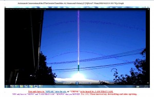 Antennae&CamerasinacableofTheGreaterChandelier.A2.SunmornFebruary(C)NjRout7.50am20thFeb2014 003 Wp.Graph.Snipped.