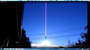AntennaeCamerasinacableofTheGreaterChandelier_2 A_SunmornFebruaryCNjRout7_50am20thFeb2014-003
