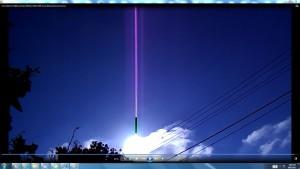 CABLEOFTHESUN.DRIVER.SunriseMarch(C)NjRout1.27pm7thMarch2014 006 SunCablesAntennaeCameras.