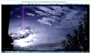 Cable.SunSpraying.Sunrise (C)noelenejoyrout9.06am9thMarch2013 252 Cable.SunSpraying.Graph.Lge.
