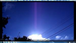 CablesGigantic.2.Sun.SunriseMarch(C)NjRout1.27pm7thMarch2014 006 SunCablesAntennaeCameras.