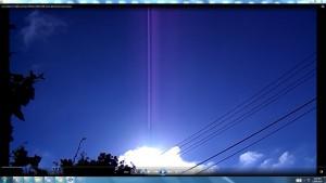 CablesGigantic.3.Sun.SunriseMarch(C)NjRout1.27pm7thMarch2014 006 SunCablesAntennaeCameras. 005