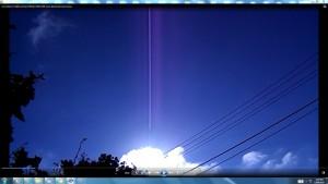 CablesGigantic.4.Sun.SunriseMarch(C)NjRout1.27pm7thMarch2014 006 SunCablesAntennaeCameras. 009