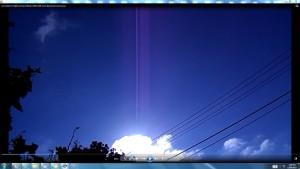 CablesGigantic.6.Sun.SunriseMarch(C)NjRout1.27pm7thMarch2014 006 SunCablesAntennaeCameras. 0014