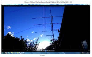 Massive Cables of The Sun.SunriseMarch(C)NjRout1.27pm7thMarch2014 008 WP.Graph.
