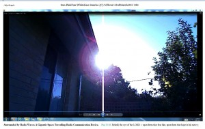 Sun.PinkFan.WhiteLine.Sunrise (C) NJRout 23rdMarch2013 084 RadioCommunicationDevice.