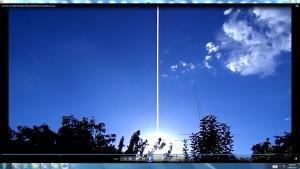 TheGiantWhiteLine.Sunfrideve(C)NjRout8.36pm23rdJan2015 016 Antennae&Cameras.
