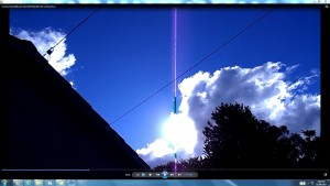 Antennae&CamerasinCableofTheSun.SunDayFrid(C)NjRout3.57pm29thMay2015 001.CablesofSun.
