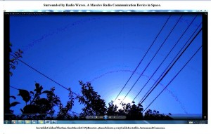 SurroundedbyRadioWaves.InvisibleCableofTheSun.SunMarch(C)NjRout10.46amFeb2014-015CableInvisible.Antennae&Cameras.Graph.Lge.