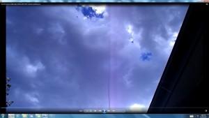 ThreeElementBeam.SunSetClouds.(C)NjRout8pm29thJan2014 003.CablesorWaterPipesofTheMassiveSun.
