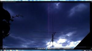 ThreeElementBeam.SunSetClouds.(C)NjRout8pm29thJan2014 009.CablesorWaterPipesMassive