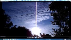 Above&BeneathTheSunThereIsAGiantWhiteLine.TheSun.(C)NjRout8.54am31stOct2015 005 TheGiantWhiteLine.