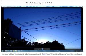 TheGiganticRadioCommunicationDeviceof[([(יהוה Yehôvâh)])].TheSun(C)NjRout7.17am29thOct2015 029.Graph.Lge