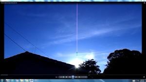 CableofTheSun.A.TheSun(C)NjRout7.06pm9thNov2015 017 SunonRightSideofHouseatback