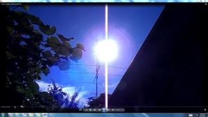 GiantWhiteLine.Sun.PinkFan.TheSun.(C)NjRout30thNov2015 001
