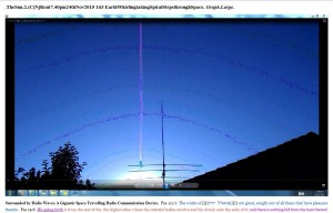 TheSun.2.(C)NjRout7.40pm24thNov2015 163 EarthWhirlingtakingSpiralStepsthroughSpace. Graph.Lge.