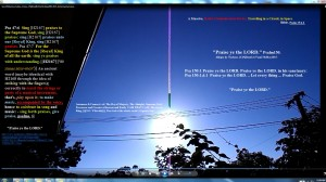 Antenae&CameraBearingCablesAttachedtoTheSun.Sun.WhiteLine.Cable.Coins.(C)NjRout8.07am3rdJan2014 013 Antennae&Cameras.PraiseyeTheLORD.