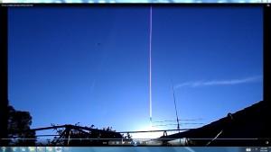 GiganticAntennae&CamerabearingCableaboveTheGiganticSun.TheSun.(C)NjRout8.18pm17thDec2015 016 Antennae&Cameras.