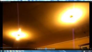 LIGHTS! Sun&Spraying. RadioWavesfromTheGiganticSuninMyLoungeRoom! D.T.