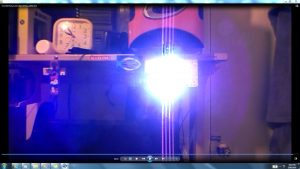 Antennae&CamerasInCablesaboveandbeneaththeLightofaTorch.2.Torch&TheSun.(C)7.45pm5thJune2016 022