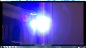 Antennae&CamerasInCablesaboveandbeneaththeLightofaTorch.2.Torch&TheSun.(C)7.45pm5thJune2016 034