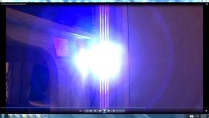 Antennae&CamerasInCablesaboveandbeneaththeLightofaTorch.3.Torch&TheSun.(C)7.45pm5thJune2016 034