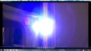 Antennae&CamerasInCablesaboveandbeneaththeLightofaTorch.5.Torch&TheSun.(C)7.45pm5thJune2016 034