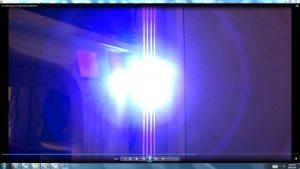 Antennae&CamerasInCablesaboveandbeneaththeLightofaTorch.Torch&TheSun.(C)7.45pm5thJune2016 034