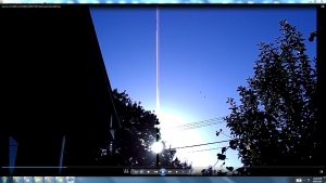 Antennae&CamerasinSunsCables.2.Sunrise-(C)-NJRout-23rdMarch2013-016-AntennaeCamerasRising