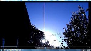 Antennae&CamerasinSunsCables.Sunrise-(C)-NJRout-23rdMarch2013-016-AntennaeCamerasRising