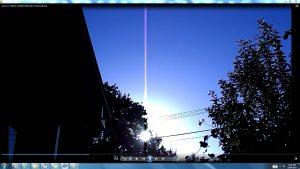 Antennae&CamerasinsunsCable.Sunrise (C) NJRout 23rdMarch2013 015 AntennaeRising