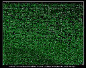 Antennae&CamerasofTheSun.CableofSun.TheSun.(C)NjRout8.27am11thMay2016 020 Digied One. Size 180.DigiedAgain..