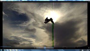 Seagull&GiganticCablesofTheSunatBondiBeach.5.BondiCopyright(C)NjRout6.05pm23rdNov2013 015 Sun&itsCableatBondiBeach