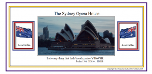 TheSydneyOperaHousewithAustralianFlags!(C)NjRout23rdJuly2013